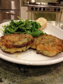 New England Codfish Cakes
